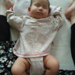 赤ちゃんのゆがみの整え方 その2