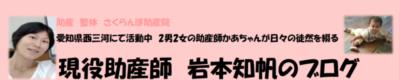 現役助産師・岩本知帆のブログ